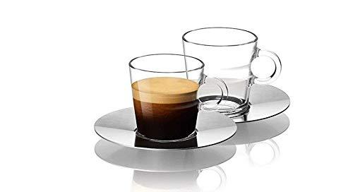 NESPRESSO Espressogläser - 2er Set - Glass Espresso - Espresso Glass Cup 60 ml