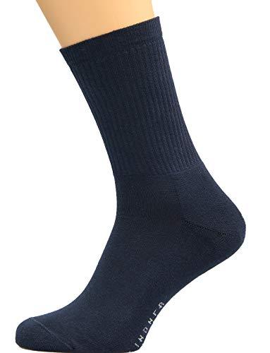 Max Lindner Socken Sportsocken dunkelblau Größe 45, 46, 47-5erPack