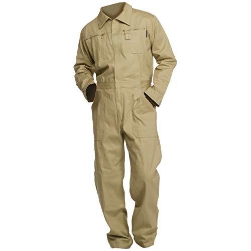 Sweat Life® Herren Overall Arbeitsanzug Khaki (56)