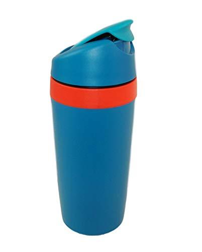 TUPPERWARE To Go Kaffee&go 360 ml türkis-orange Thermobecher Kaffeebecher