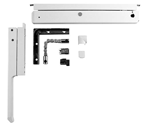GU Oberlicht Fenster Grundkarton Ventus F200 mit Handhebel weiß K-15011-00-0-7