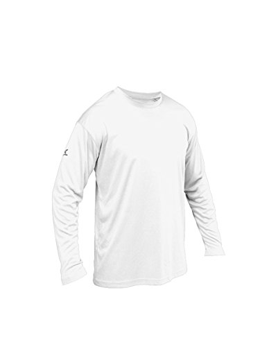Easton Herren A164762WHM Baseball-Kleidung, Shirts, weiß, Medium
