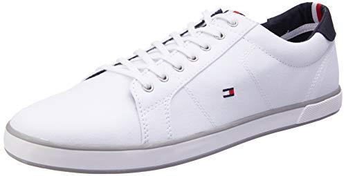 Tommy Hilfiger Herren H2285ARLOW 1D Low-Top, Weiß (Bianco), 46 EU