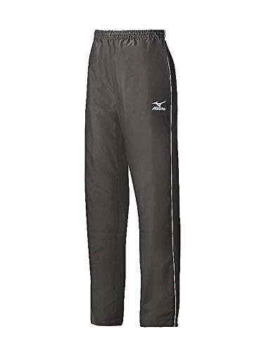 Mizuno Damen Team V Warm Up Hose lang, X-Large, Anthrazit