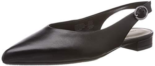 Gerry Weber Shoes Damen Barcelona 01 Slingback Ballerinas, Schwarz 100), 39 EU ( 6 UK)