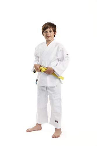 Ippon Gear Kinder Future Judoanzug, weiß, 140 cm