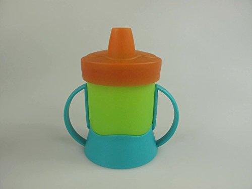 TUPPERWARE Kinder Trinklernbecher 200 ml blau grün orange Schnabelbecher Baby 9737