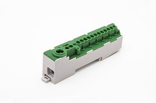 Schneider DDD1488PE POLL Schutzleiterklemme PE14-S grün/gelb steckbar PE-KLEMME 2X4MM² 12X2,5MM²