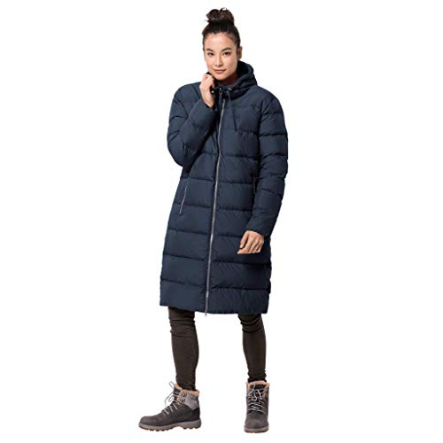 Jack Wolfskin Damen Crystal Palace Coat Winterjacke, midnight blue, S