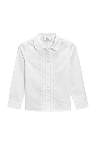 next Mädchen Langarmbluse Mit Spitzenbesatz (3-14 Jahre) Weiß 9 Jahre