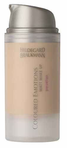 Hildegard Braukmann Colour Emotions Matt Make-Up Mandel, 1er Pack (1 x 30 ml)