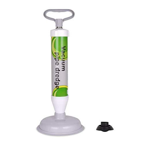XREXS Abflußreiniger Toiletten-Luftstößel - leistungsstarker Abfluss-Kolben mit 2 Art Saugnäpfen, Multifunktionale Reinigungspumpe verwendbar für Toilette, Badewanne, Dusche, Wanne