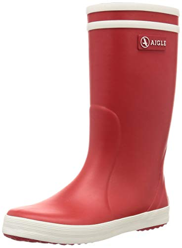 Aigle Lolly Pop Gummistiefel 84564 Unisex-Kinder, Rot (rouge/blanc 8), 84558, 32
