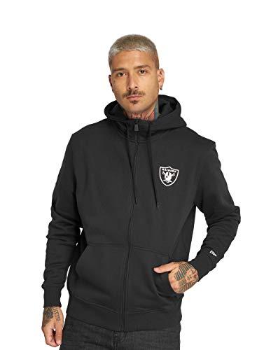 New Era Herren Zip Hoodie NFL Team Oakland Raiders Schwarz XL