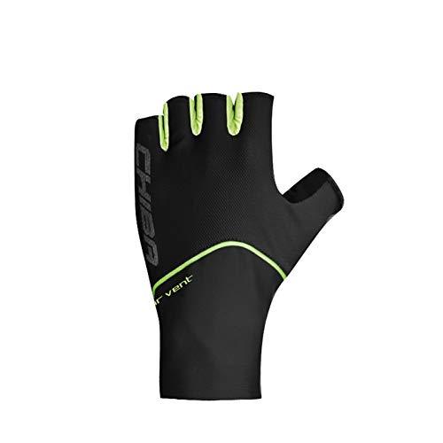 Chiba Team Racer Fahrrad Handschuhe kurz schwarz 2017: Größe: XXL (11)
