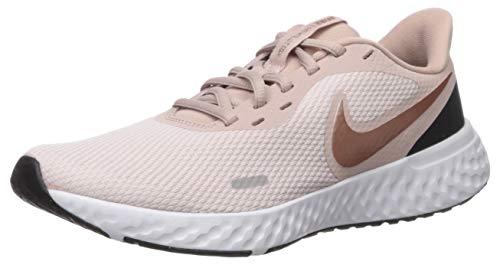 Nike Damen Revolution 5 Running Shoe, Barely Rose/Metallic Red Bronze-Stone Mauve-Black, 40 EU
