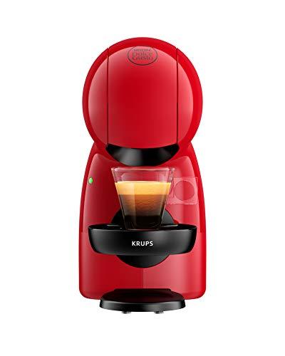 Krups Nescafé Dolce Gusto Piccolo XS, Kapsel Kaffeemaschine, heiße und kalte Getränke, 15 bar Pumpendruck, manuelle Wasserdosierung, Rot