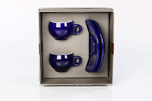 Danesi Caffé Duo Blue Espressotassen Blau 2er Set