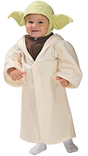 Rubie's Offizielles Disney Star Wars-Yoda-Kostüm für Kleinkinder