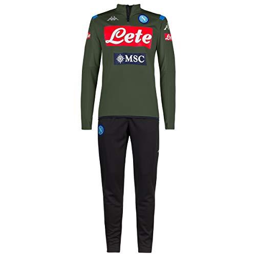Kappa Jungen Aldebuo 3 Napoli Trainingsanzug, grün/blau/schwarz, 10Y
