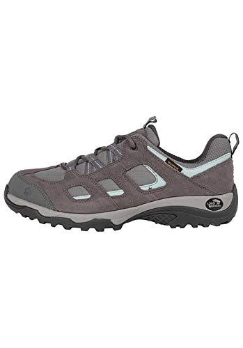 Jack Wolfskin Damen Vojo Hike 2 Texapore Low W Wasserdicht Trekking-& Wanderhalbschuhe, Grau (Tarmac Grey 6011), 36 EU