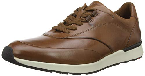 LLOYD Herren AJAS Sneaker, Braun (Cognac 3), 42.5 EU