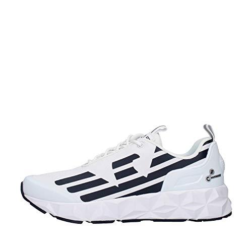 EA7 Herren Ultimate Racer Joggingschuhe Sneaker Weiß 43 EU