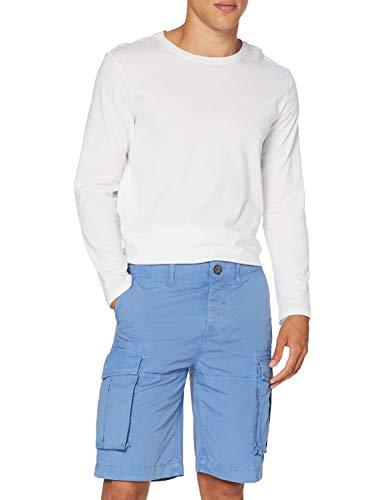 Pepe Jeans Herren Journey Short Badeshorts, Blau (Ultra Blue 542), 38 (Herstellergröße: 30)
