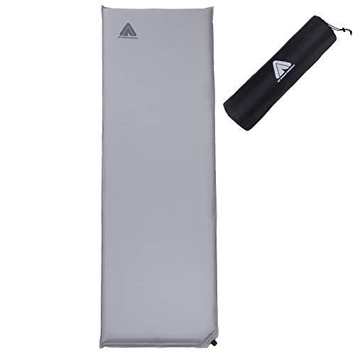 10T Outdoor Equipment Unisex– Erwachsene Thermo-Matte, Grau-6S, 6cm
