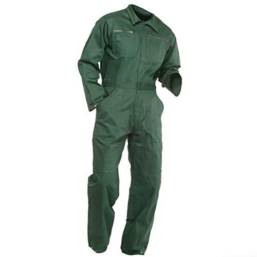 Sweat Life® Herren Overall Arbeitsanzug Grün (56)