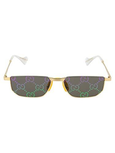 Gucci Luxury Fashion Damen GG0627S002 Gold Metall Sonnenbrille | Jahreszeit Permanent