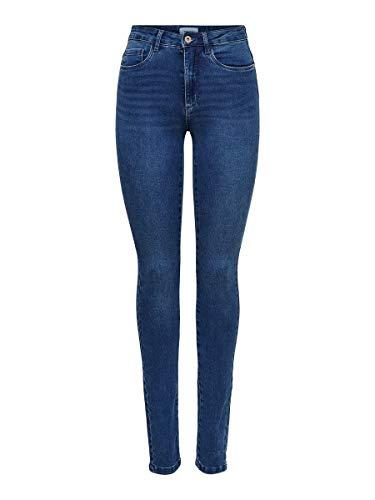 ONLY Female Skinny Fit Jeans ONLRoyal High Waist XL34Medium Blue Denim