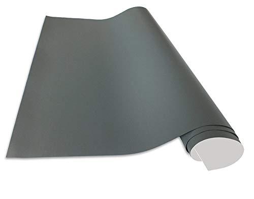 Cuadros Lifestyle Selbstklebende und magnetische Vinyl- Tafelfolie | Magnetafel | Magnetfolie, Farbe:Grau, Größe:50x70 cm