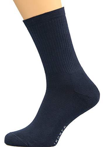 Max Lindner Socken Sportsocken dunkelblau Größe 39, 40, 41