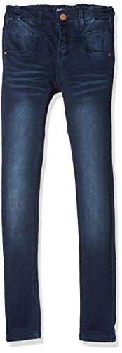 NAME IT Mädchen NKFPOLLY DNMTRILLE 3001 Pant NOOS Jeans, Blau (Dark Blue Denim), 134