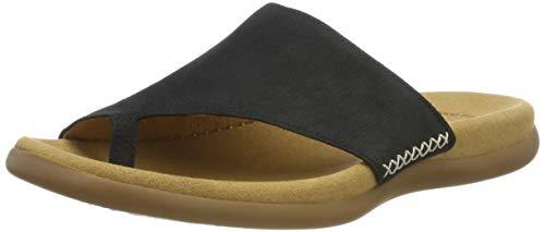 Gabor Shoes Damen Gabor Jollys Pantoletten, Blau (Nightblue), 39 EU