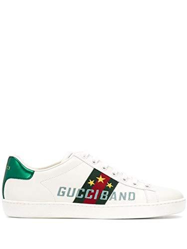 Gucci Luxury Fashion Damen 6040160FI109069 Weiss Leder Sneakers | Frühling Sommer 20