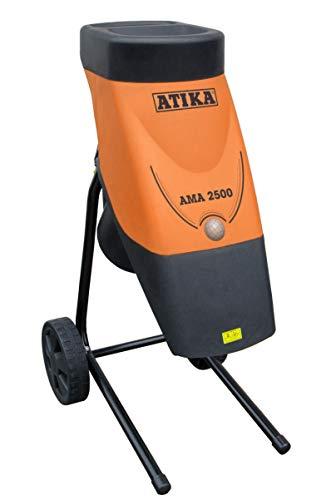 ATIKA AMA 2500 Gartenhäcksler Messerhäcksler Elektrohäcksler Schredder | 230V | 2500W