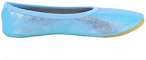 Beck Mädchen Basic Gymnastikschuhe, Blau (Hellblau 04), 32 EU