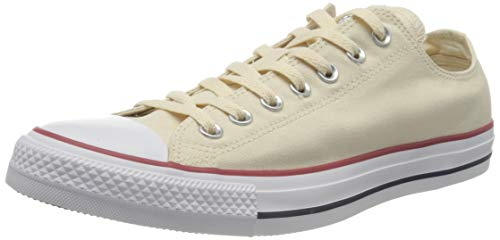Converse Unisex Chuck Taylor All Star OX 159485 Sneaker, Beige (Beige 159485c), 41.5 EU