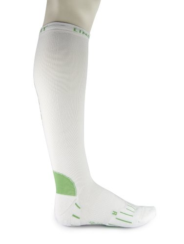 Lindner socks Compression Running Sportstrumpf, 35-37, weiß