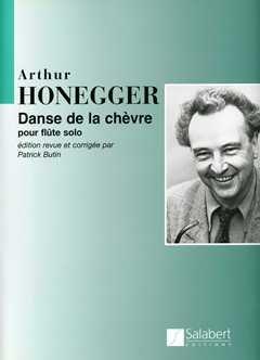 DANSE DE LA CHEVRE - arrangiert für Querflöte [Noten/Sheetmusic] Komponist: HONEGGER ARTHUR - FL