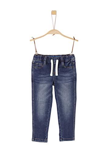s.Oliver Jungen 74.899.71.0513' Slim Jeans, Blue Denim Stretch, 110/Slim