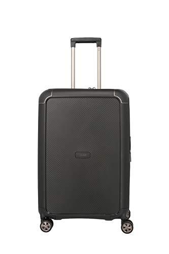 """TITAN """"COMPAX""""-Trolleys von TITAN®: stabile Hartschalen-Koffer in futuristischer Optik in 3 Farben Koffer, 67 cm, 75 Liter, Black"""