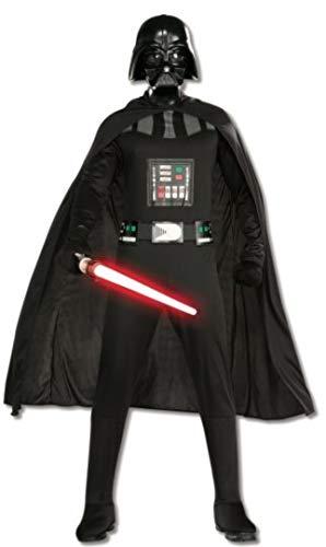 Rubie's Kostüm Star Wars Darth Vader Kostüm für Erwachsene - Schwarz - Standard