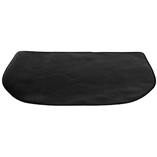 fuguzhu Kaminbodenplatte, Funkenschutzplatte für Kaminofen, Bodenblech zum Schutz des Bodens vor Funken, hitzebeständige Hitzeschutzplatte (50 * 100cm)