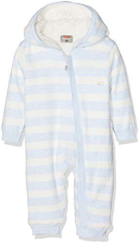 Kanz Baby-Jungen Overall m. Kapuze Schneeanzug, Blau (y/d Stripe Multicolored 0001), 62