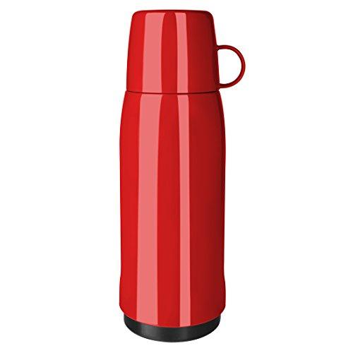 Emsa 502447 Isolierflasche, Mobil genießen, 750 ml, Schraubverschluss, Rot, Rocket