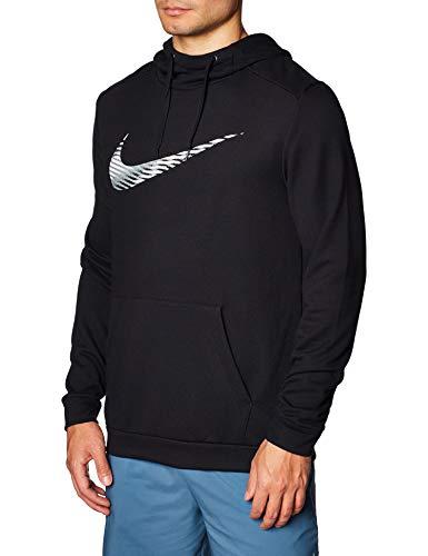 Nike Herren M NK Dry Hoodie PO Swoosh Sweatshirt, Black, M