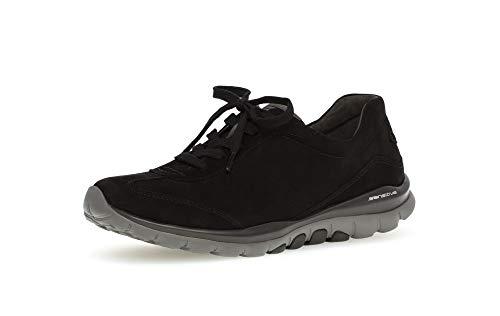 Gabor Shoes Damen Sport-Halbschuh Sneaker, Schwarz (Blurossograu) 47), 42 EU